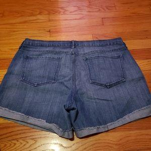 Womens size 14 jean shorts